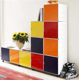 Salas de estilo moderno por Cubestore