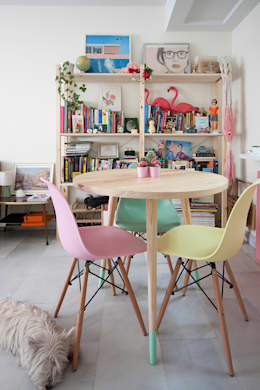 modern Dining room by www.rocio-olmo.com