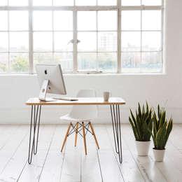 Studio in stile in stile Moderno di Biggs & Quail