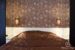 MARKI: styl , w kategorii Sypialnia zaprojektowany przez Kołodziej & Szmyt Projektowanie wnętrz