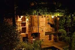 Cocinas de estilo rústico por Kuchnia w Ogrodzie