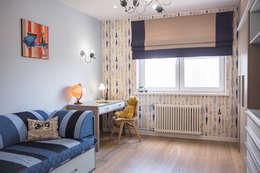 Квартира в Москве 100м2 (дизайнер Мария Соловьёва-Сосновик): Детские комнаты в . Автор – Фотограф Анна Киселева