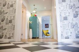 Квартира в Москве 100м2 (дизайнер Мария Соловьёва-Сосновик): Коридор и прихожая в . Автор – Фотограф Анна Киселева