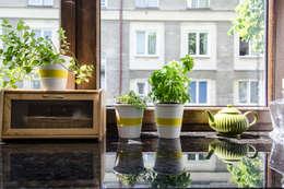 Przedwojenna kamienica : styl , w kategorii Kuchnia zaprojektowany przez Studio Malina