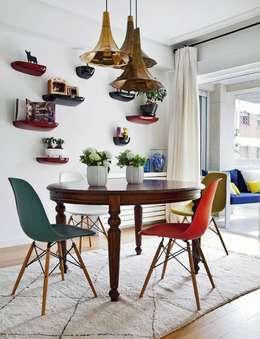 Столовая комната в . Автор – Bescos-Nicoletti Arquitectos