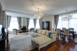 Дом в Пестово: Гостиная в . Автор – Технологии дизайна