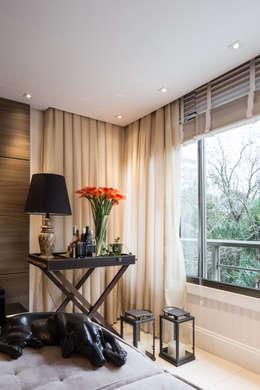 Apartamento Bela Vista 3: Salas de estar modernas por Mundstock Arquitetura