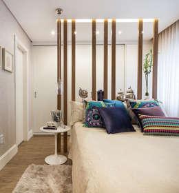 Apartamento Bela Vista 3: Quartos  por Mundstock Arquitetura