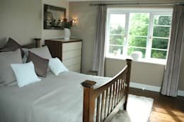 modern Bedroom by Maggie Walton-Swan Interior Design Ltd