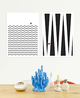 minimalistic Dining room by JUNIQE
