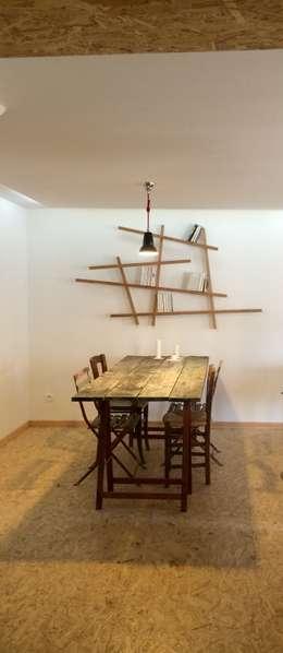 Salle à manger: Salle à manger de style de style Moderne par Atelier d'Ersu & Blanco