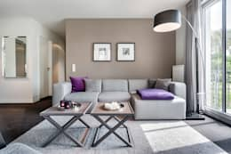 modern Living room by SALLIER WOHNEN HAMBURG