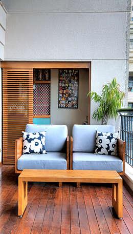 Terrazas de estilo  por studio scatena arquitetura
