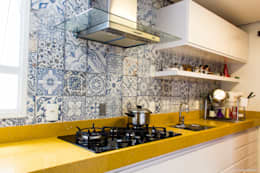 Cocinas de estilo moderno por 285 arquitetura e urbanismo