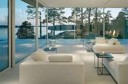 minimalistic Living room by Daire Tadilatları