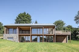 Modernes Holzhaus modernes holzhaus mit ausblick