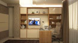 minimalistic Study/office by tatarintsevadesign