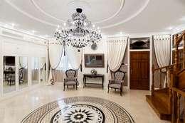 Corridor, hallway by AGRAFFE design