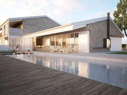 Maisons de style de style Moderne par Memento Architects