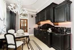 AGRAFFE design: klasik tarz tarz Mutfak