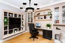 AGRAFFE design: klasik tarz tarz Çalışma Odası