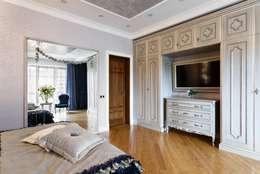AGRAFFE design: klasik tarz tarz Yatak Odası