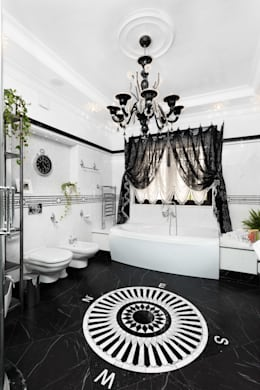 classic Bathroom by AGRAFFE design