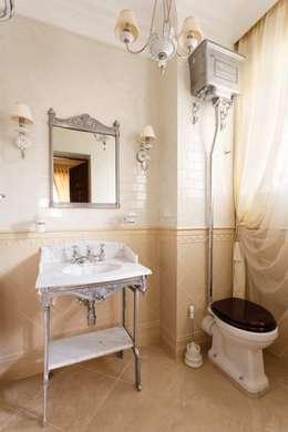 AGRAFFE design: klasik tarz tarz Banyo