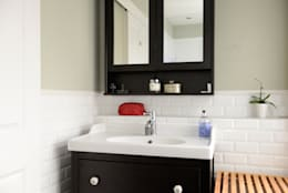 Family Home: classic Bathroom by Ruth Noble Interiors