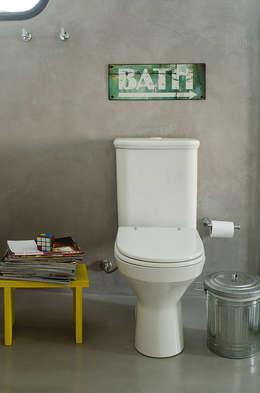 Apartamento Vila Nova Conceição: Banheiro  por Marcella Loeb