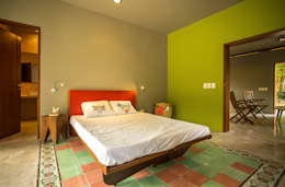 Dormitorios de estilo moderno de TACO Taller de Arquitectura Contextual