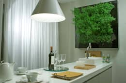 Quadro Vivo®  com Rega Autamatica (dispensa ponto de água): Cozinha  por Quadro Vivo Urban Garden Roof & Vertical