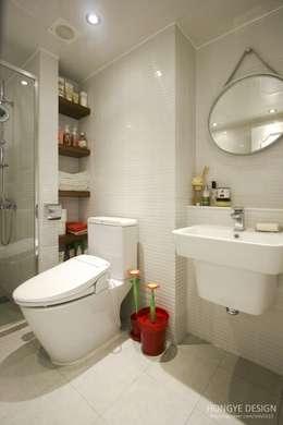 욕실 : 홍예디자인의  화장실