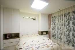 여자라면 누구나 탐낼만한 주방인테리어: 홍예디자인의  침실