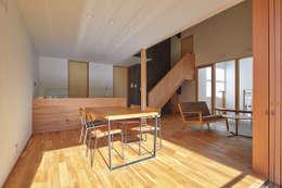 ダイニング: ケンチックス一級建築士事務所が手掛けたダイニングです。