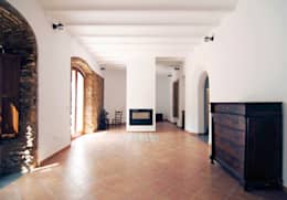 غرفة المعيشة تنفيذ CM4 Arquitectos