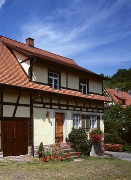 Projekty, rustykalne Domy zaprojektowane przez Kohlbecker Gesamtplan GmbH