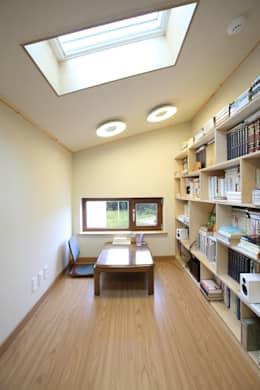 modern Study/office by 주택설계전문 디자인그룹 홈스타일토토