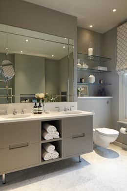 Ванные комнаты в . Автор – Laura Sole Interiors