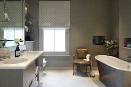 classic Bathroom by Laura Sole Interiors