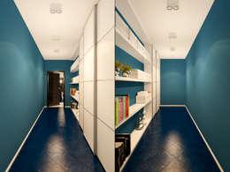 Квартира в стиле Энди Уорхола: Коридор и прихожая в . Автор – Студия дизайна интерьера Маши Марченко