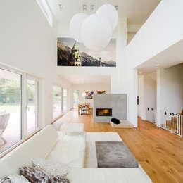 Haus STS: moderne Wohnzimmer von Ferreira | Verfürth Architekten