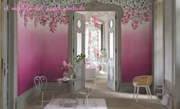 Paredes y pisos de estilo mediterraneo por El Mundo del Papel Pintado