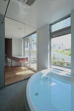 浴室 by 工藤宏仁建築設計事務所
