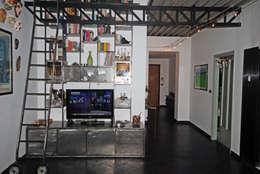 Projekty,  Salon zaprojektowane przez ARCHILOCO studio associato