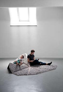 Livings de estilo ecléctico por Nora Werner Design