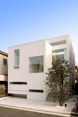 moderne Häuser von 株式会社 アーキショップ 一級建築士事務所