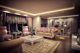 Sonmez Mobilya Avantgarde Boutique Modoko – Şehzade Salon / Özel: klasik tarz tarz Oturma Odası