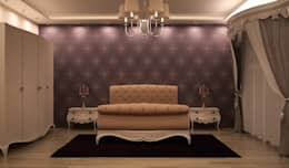 Sonmez Mobilya Avantgarde Boutique Modoko – Pargalı Yatak: klasik tarz tarz Yatak Odası