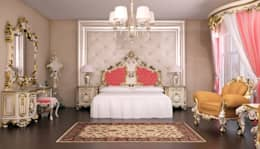 Sonmez Mobilya Avantgarde Boutique Modoko – Queen Set: klasik tarz tarz Yatak Odası